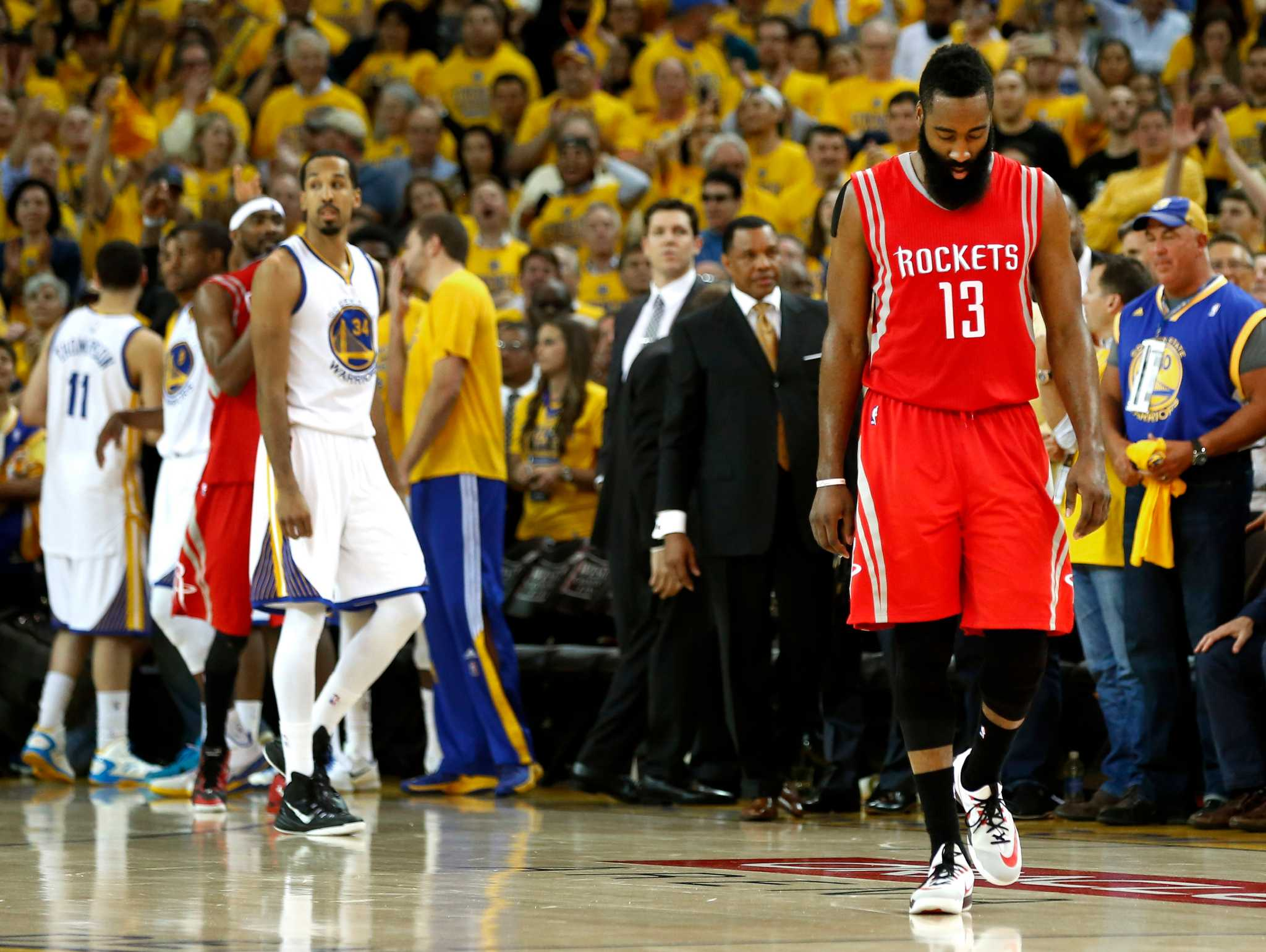 Warriors end Rockets' season with Game 5 win - HoustonChronicle.com