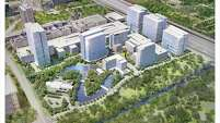 Renderings of Republic Square reveal a 35-acre mixed-use development proposed in the heart of Houston's Energy Corridor between Interstate 10 and Memorial Drive, bordering Terry Hershey Park.