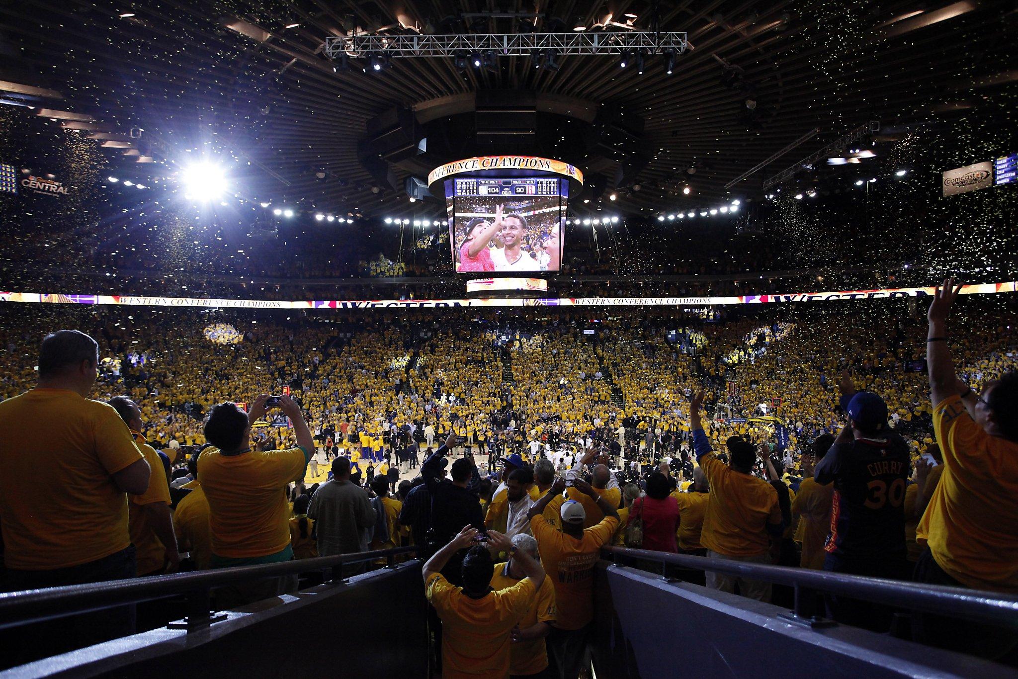 Warriors close out Rockets, head to NBA Finals - SFGate