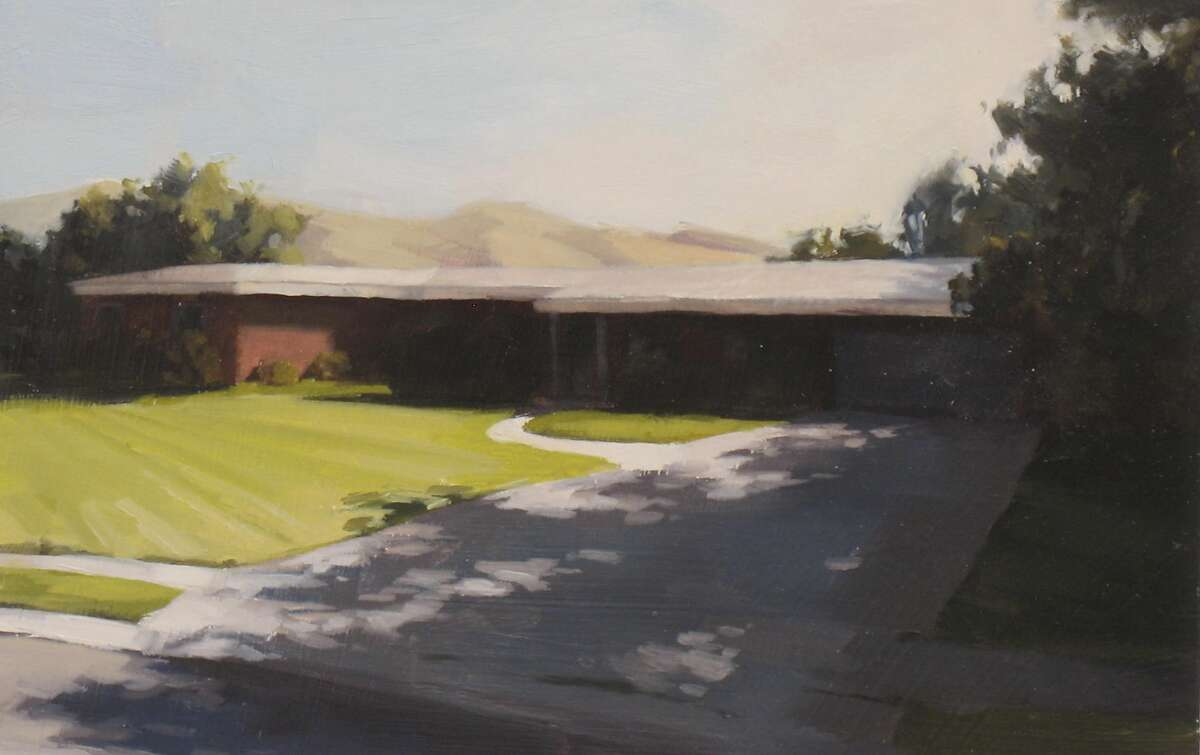 Real and Imaginary?... Scott Nelson Foster, Real and Imaginary Houses 12 of 20, Oil on panel, 2011
