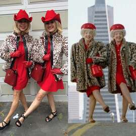"""Most S.F."" Costume Winner: Lindsay Sullivan, The Brown Twins"