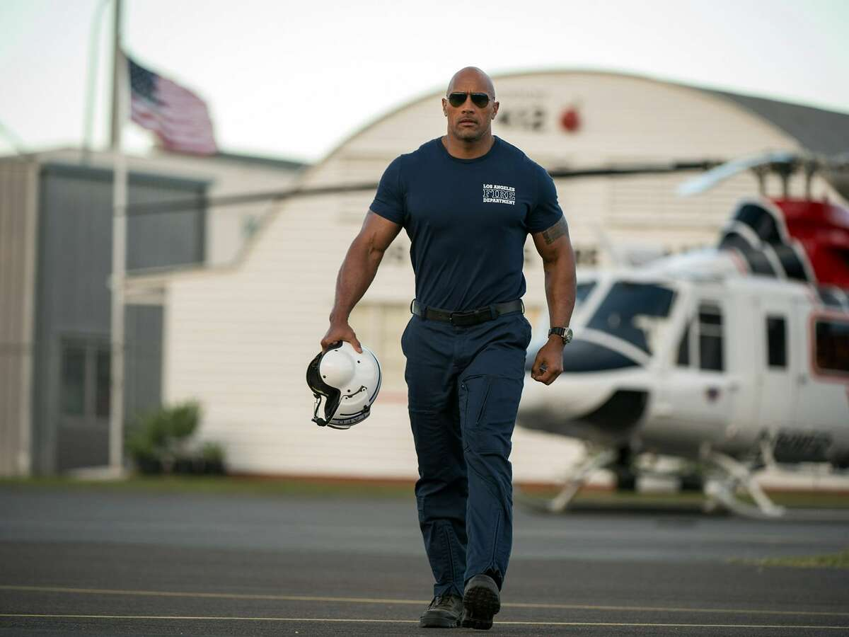 "Dwayne Johnson stars in ""San Andreas."""