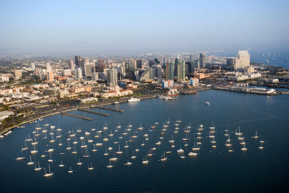 10. San Diego-Carlsbad, Calif. Fitness Index: 64.1