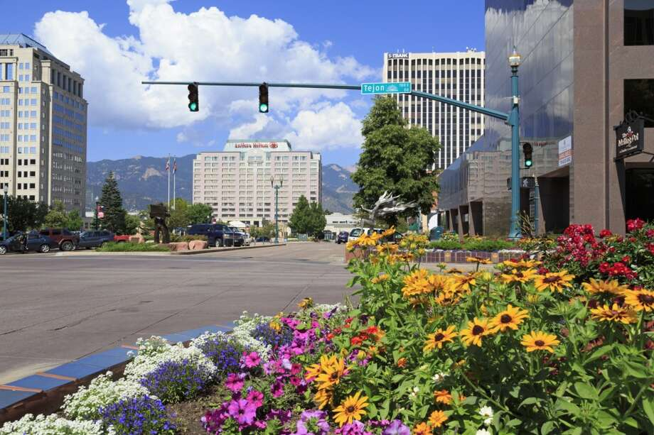 9. Colorado Springs, Colo.Vacancy Rate: 6.4 percentRecent homes added: 1,739Projected Annual Growth Rate (2015-2020): .99 percentArts-related businesses: 229WalkScore (out of 100): 33 Photo: Richard Cummins, Getty Images/Robert Harding World Imagery