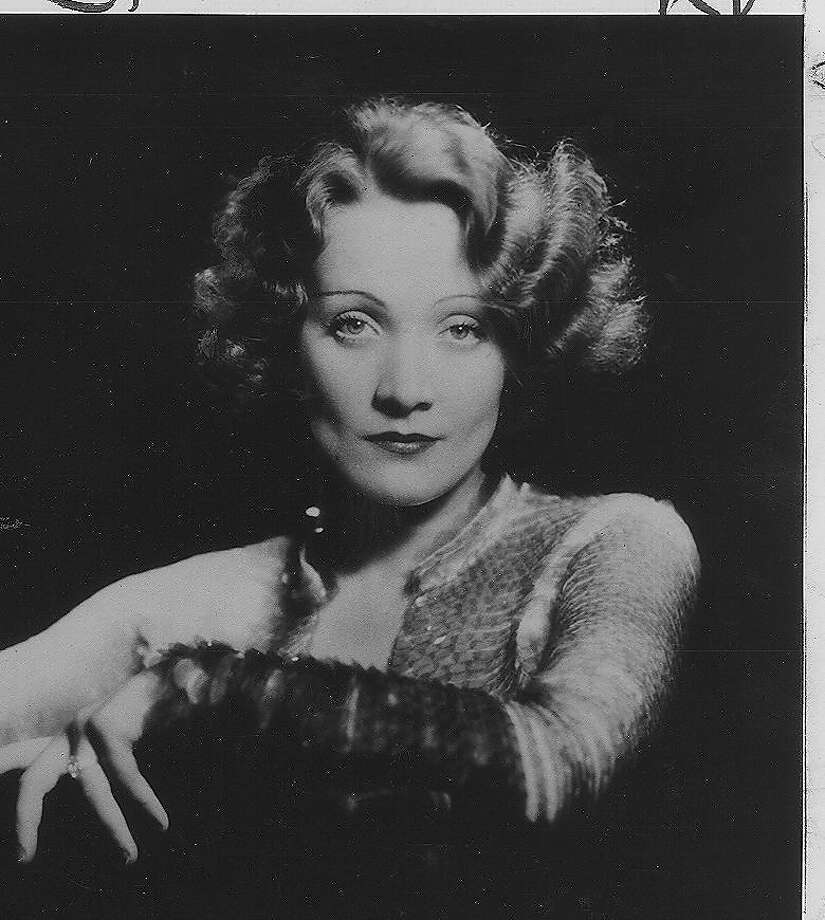 Marlene Dietrich: She was good, but she wasn't Greta Garbo. Photo: Ho