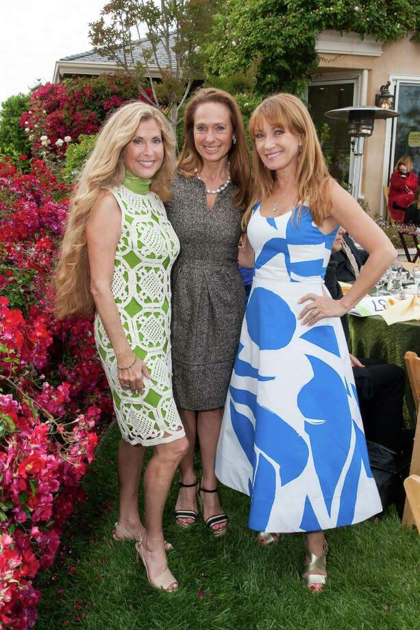 Sherry Cagan, Elisabeth Thieriot and Jane Seymour at the Bay Area Lyme Foundation's LymeAid 2015 on May 27, 2015. Photo: Drew Altizer, Drew Altizer Photography / DREW ALTIZER PHOTOGRAPHY