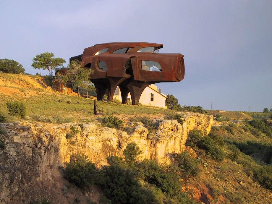 "Robert Bruno's ""Steel House"" near Lubbock. Photo: Courtesy Of Robert Bruno"