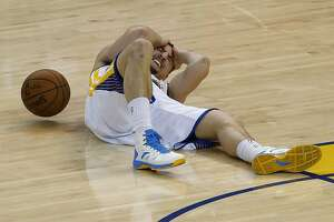 Warriors: Injured Klay Thompson Game 1 status uncertain - Photo