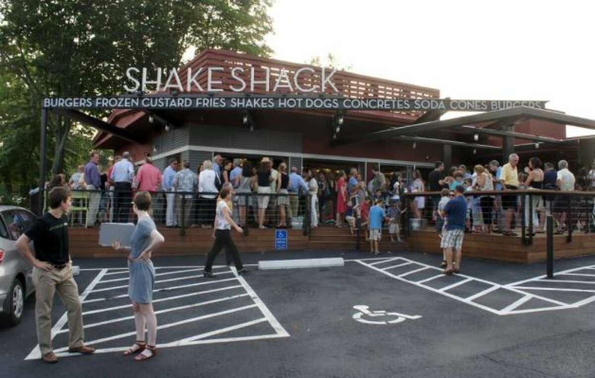 """Shake Shack It's not just Shake Shack to Siri. It's """"A Shake Shack."""" I hope she realizes there is more than one location."""
