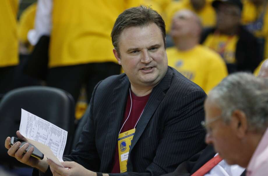 You won't find Rockets general manager Daryl Morey in the stands during the upcoming playoffs. He favors a quieter space to experience those tension-filled contests. Photo: James Nielsen
