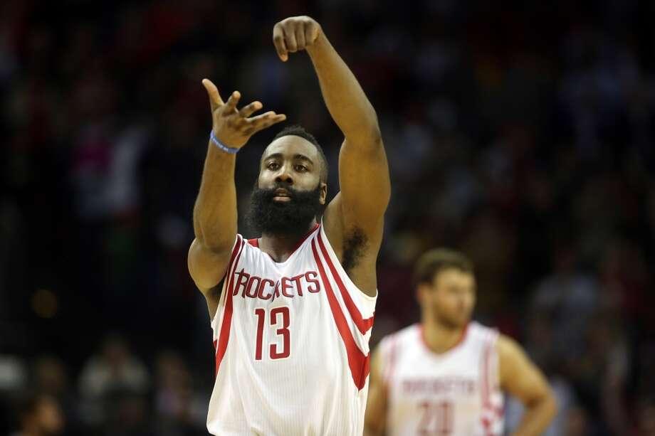 100. James Harden, NBATotal earnings: $18.8 millionSalary: $14.8 millionEndorsements: $4 million Photo: Mayra Beltran, Houston Chronicle