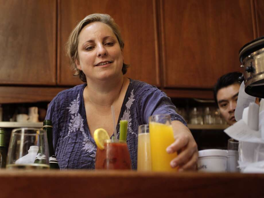 The owner of Zazie restaurant, Jen Piallat  on Wednesday Aug. 27, 2014,  in San Francisco, Calif. Photo: Michael Macor, The Chronicle