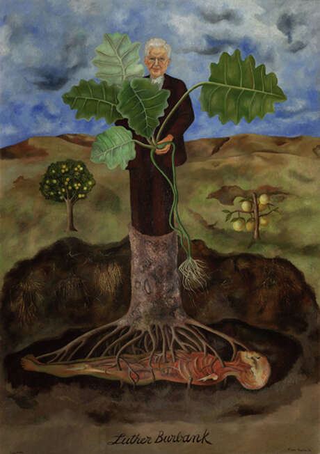 """Frida Kahlo's """"Portrait of Luther Burbank."""" Photo: © 2015 Banco De México Diego Rivera Frida Kahlo Museums Trust, Mexico, D.F. / Artists Rights Society (ARS), New York"""