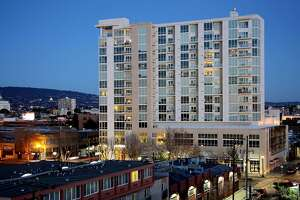 Two-level penthouse crowns luxury building in Jack London Square - Photo