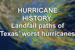 All NOAA hurricane activity  dating to 1842  See the storm paths and landfall points of Texas' biggest hurricanes and tropical storms ...