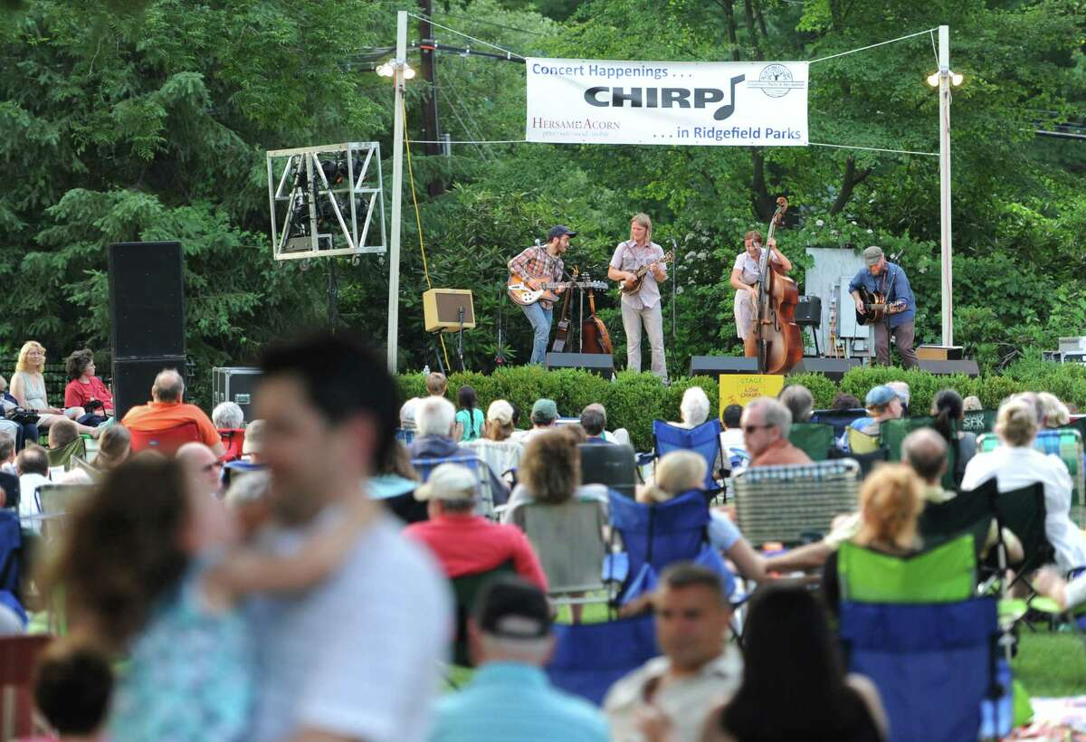The CHIRP free concert series at Ballard Park in Ridgefield begin May 31 and run through August 30. Check out the lineup.