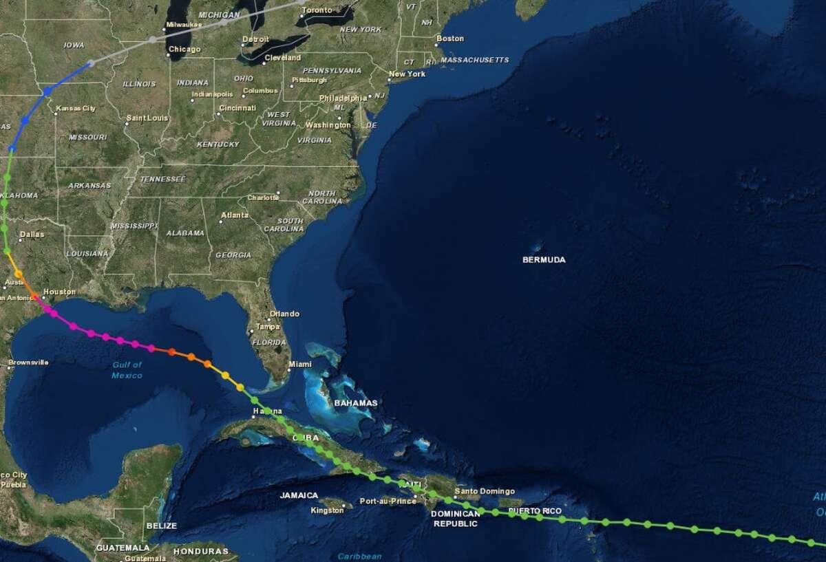 1900 Unnamed (Great Galveston Hurricane) Formed August 1900