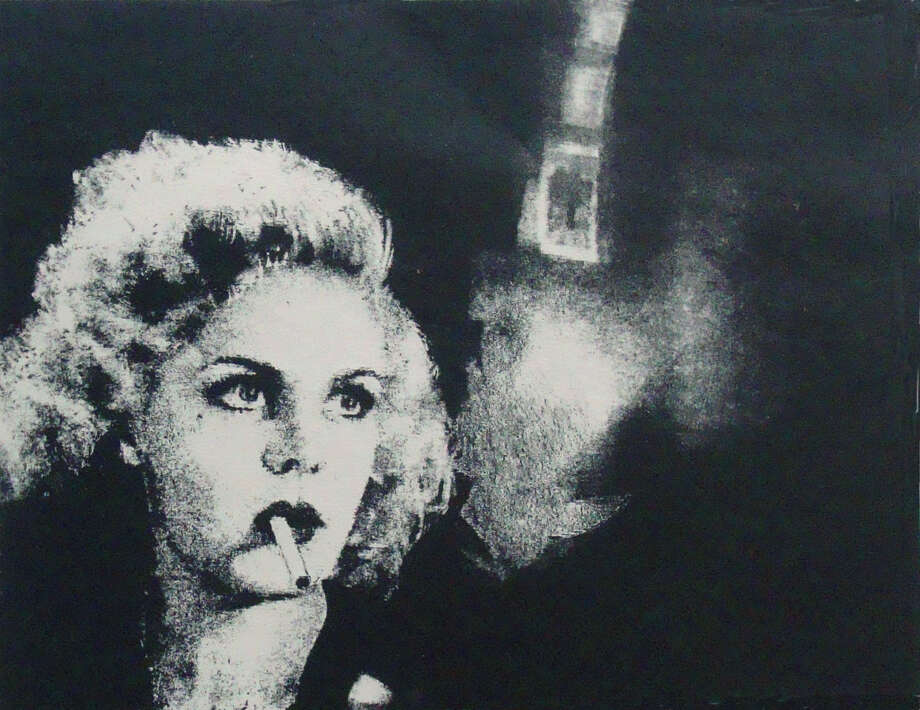 An exhbition of paintings, etchings and lithographs by Ann Chernow - inspired by film noir movies from the 1940s - is on view at Stamford's PMW Gallery through June 21. Photo: Contributed Photo / Connecticut Post Contributed