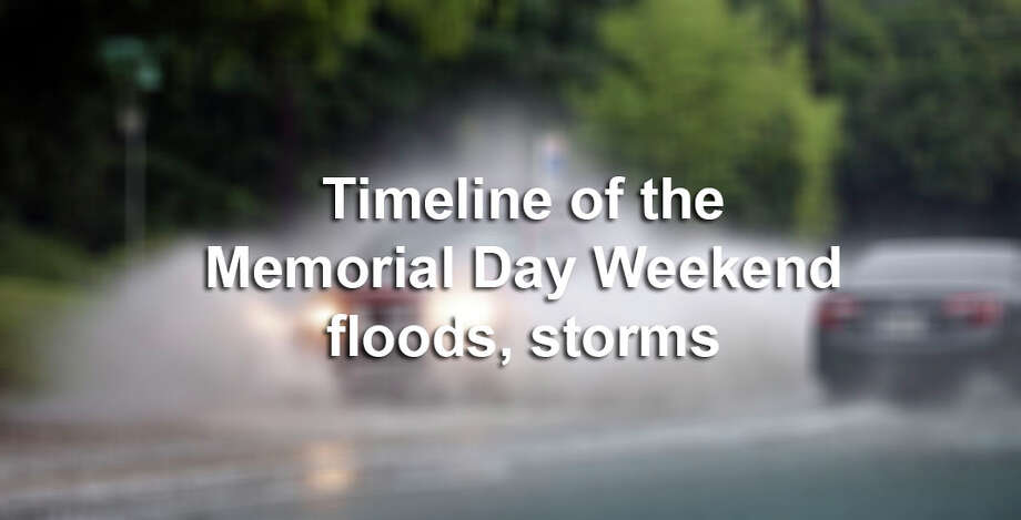 Here's a look at the timeline of the incident that have occurred during the massive flooding from Memorial Day Weekend in South Central Texas. / © 2015 San Antonio Express-News