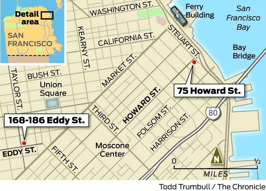 Planning OKs 20story tower on Howard at Embarcadero San Francisco