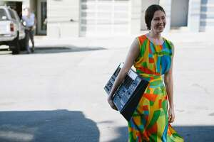 Aubrey Trinnaman's Street Style Photographed in the Outer Sunset District