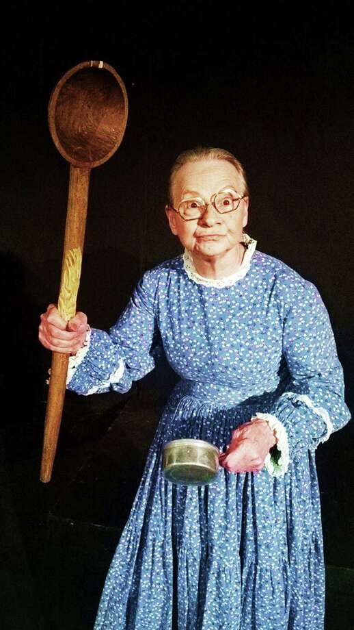 """Sandy Schwartz is once again playing Granny in the Rose Theatre Company's live staging of """"The Beverly Hillbillies."""" Photo: Courtesy Rose Theatre Company"""