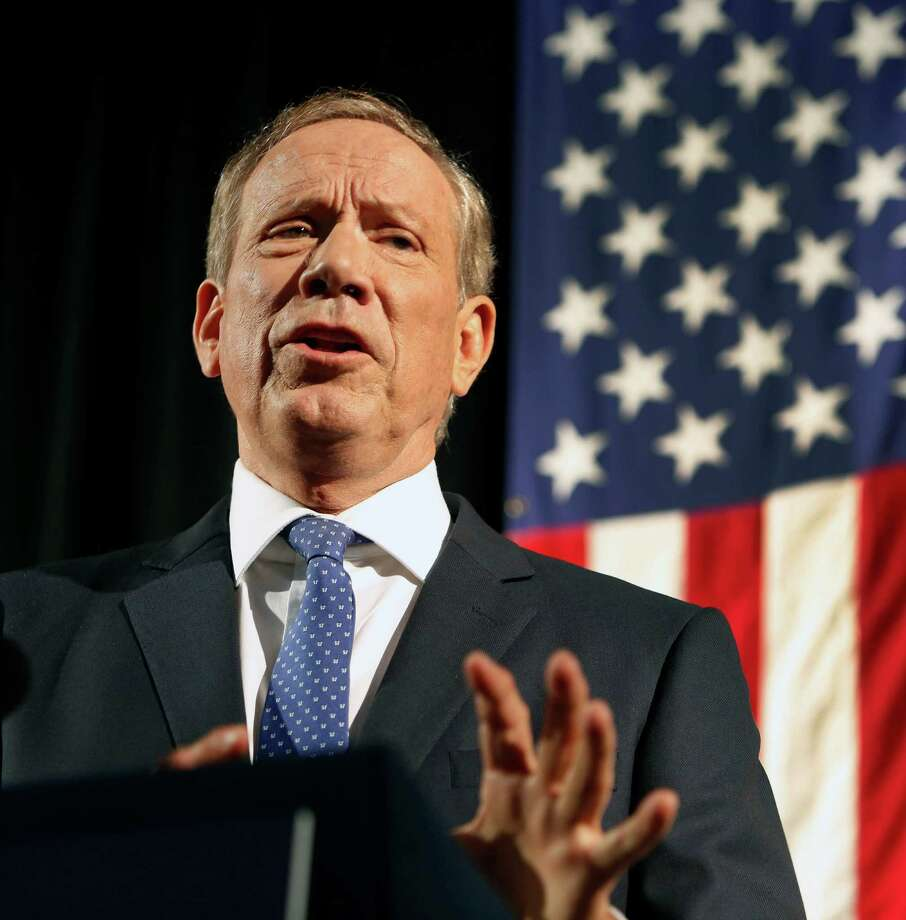 George Pataki, who was New York's governor during 9/11 but has been out of office since 2006, is an underdog in a pack of favorites and longshots. Photo: Jim Cole /Associated Press / AP