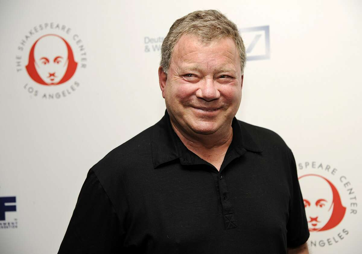 FILE - In this Sept. 22, 2014 file photo, William Shatner arrives for the 24th annual Simply Shakespeare benefit reading of