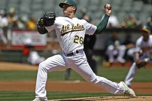A's expect Scott Kazmir to miss one start - Photo
