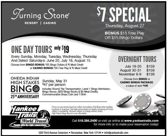 Turning Stone ad