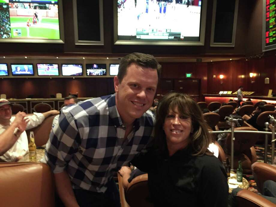 JDR's Jan Pappert found Today Show's Willie Geist to be a down-to-earth Houston Rockets fan when she ran into him in Las Vegas.