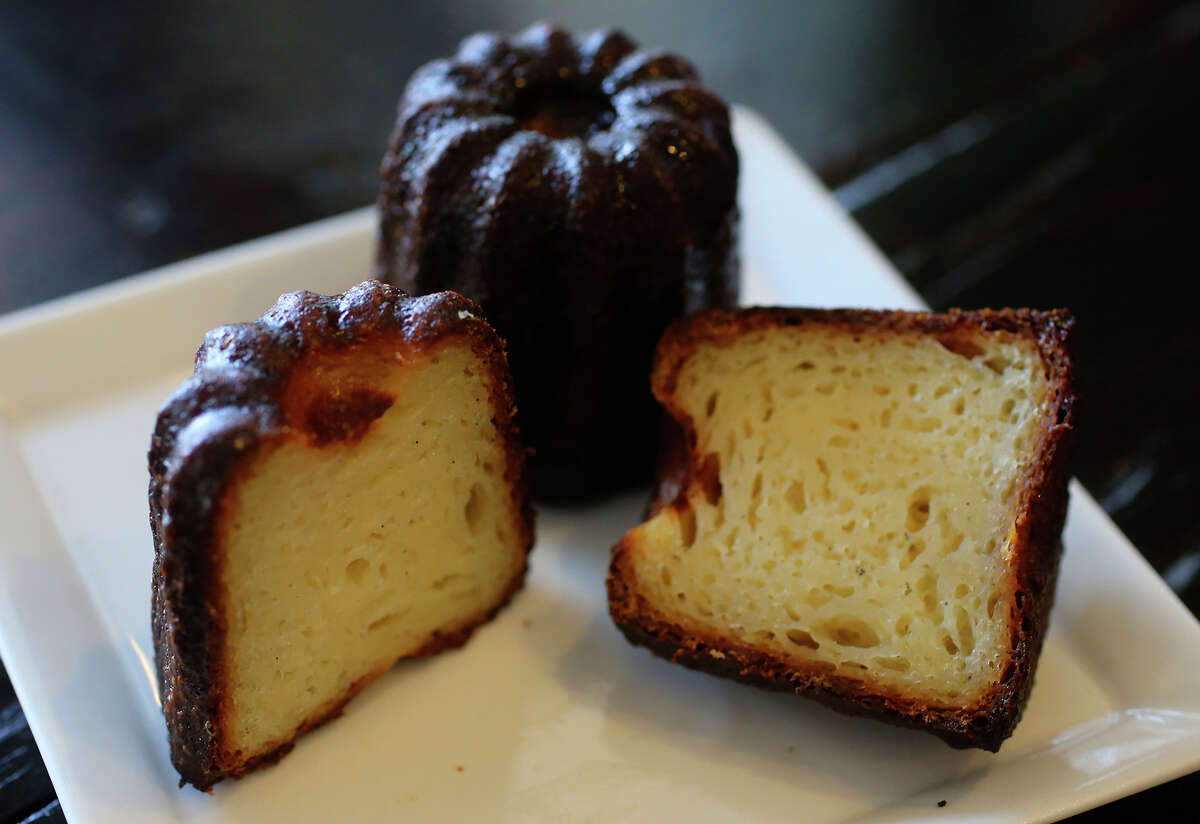This is the canele at Malinalli Bakery and Bistro at 2211 Northwest Military Highway.