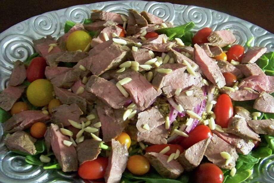 Flank Steak Salad Photo: Edmund Tijerina /San Antonio Express-News