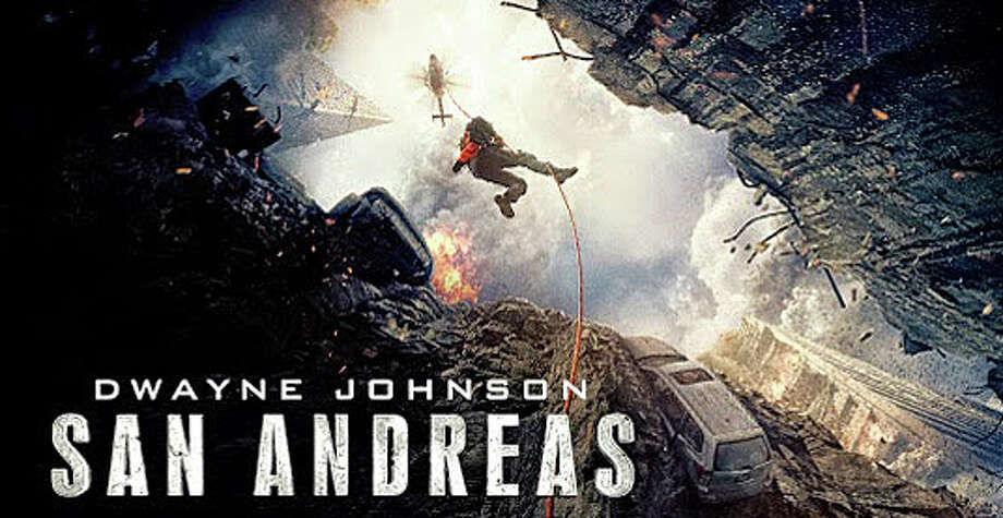 "The disaster movie, ""San Andreas,"" chronciles the chaos unleashed in California when it's hit by the largest-magnitude earthquake ever recorded. Photo: Contributed Photo / Westport News"