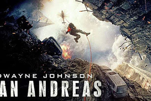 "The disaster movie, ""San Andreas,"" chronciles the chaos unleashed in California when it's hit by the largest-magnitude earthquake ever recorded."