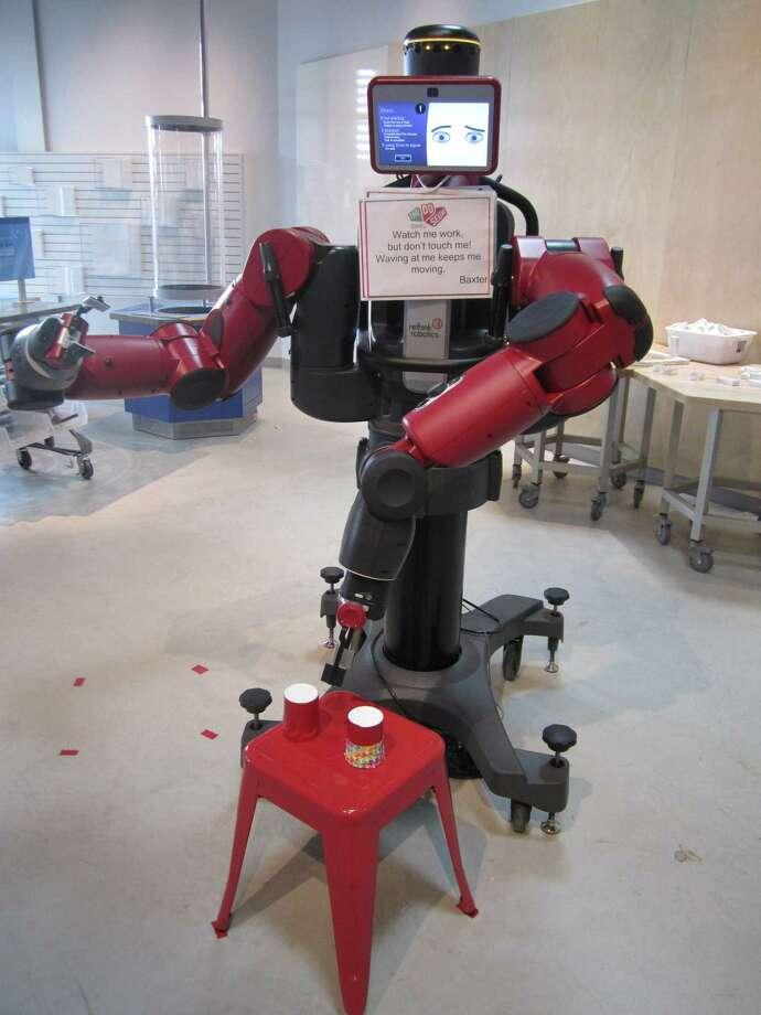 Baxter the Robot at the DoSeum Photo: Imelda Robles / San Antonio Express-News