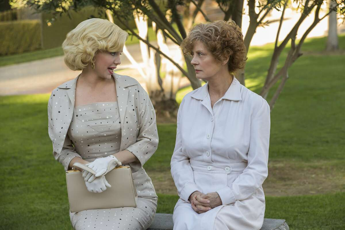 """(L to R) Kelli Garner (""""Marilyn"""") and Susan Sarandon (""""Gladys"""") star in the all-new Lifetime miniseries, The Secret Life of Marilyn Monroe. Part-One premieres Saturday, May 30, at 8pm ET/PT followed by Part-Two on Sunday, May 31, at 8pm ET/PT on Lifetime. Photo by Danny Feld Copyright 2015 Copyright 2015"""