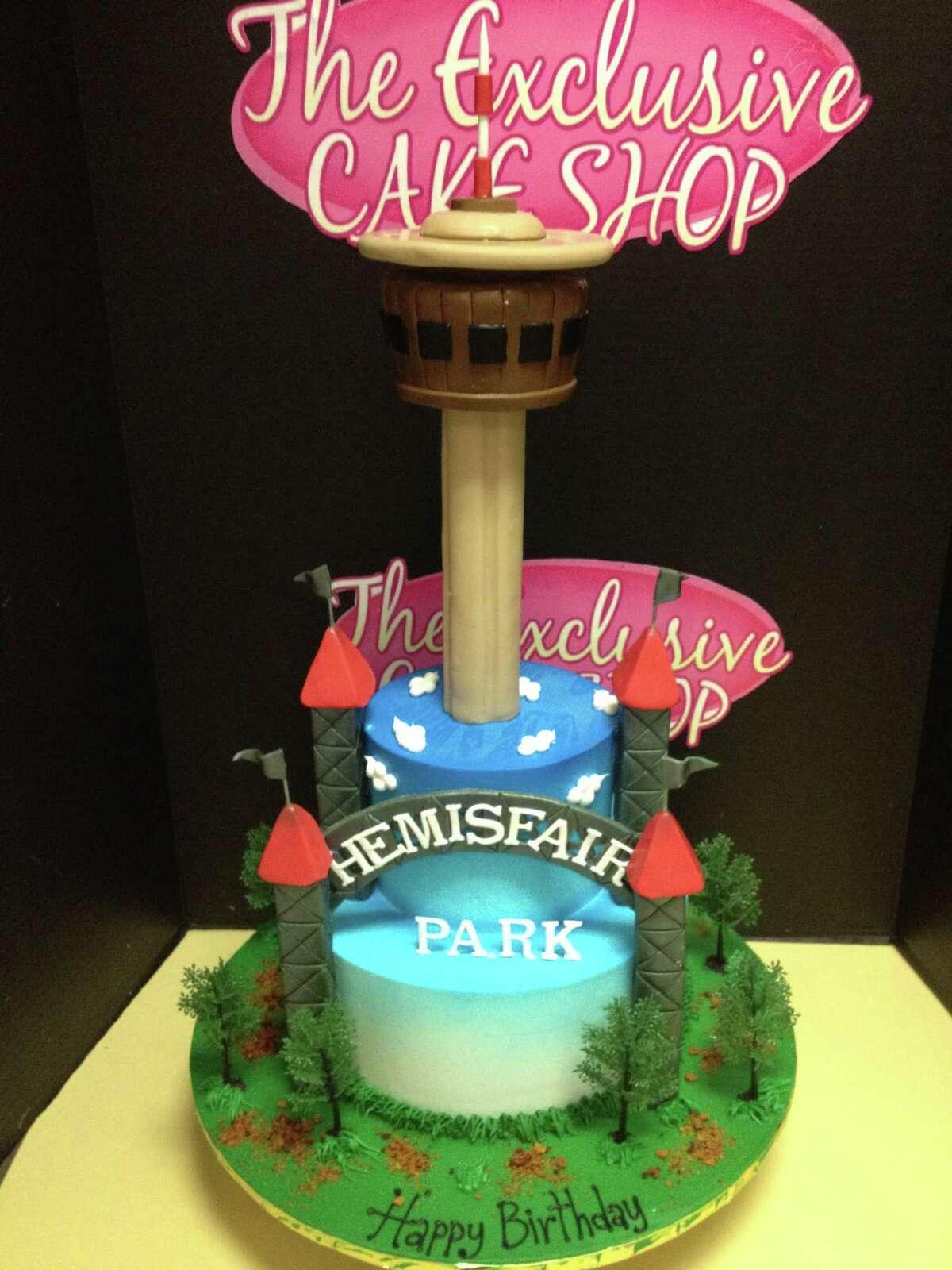 Tower of Americas Cake