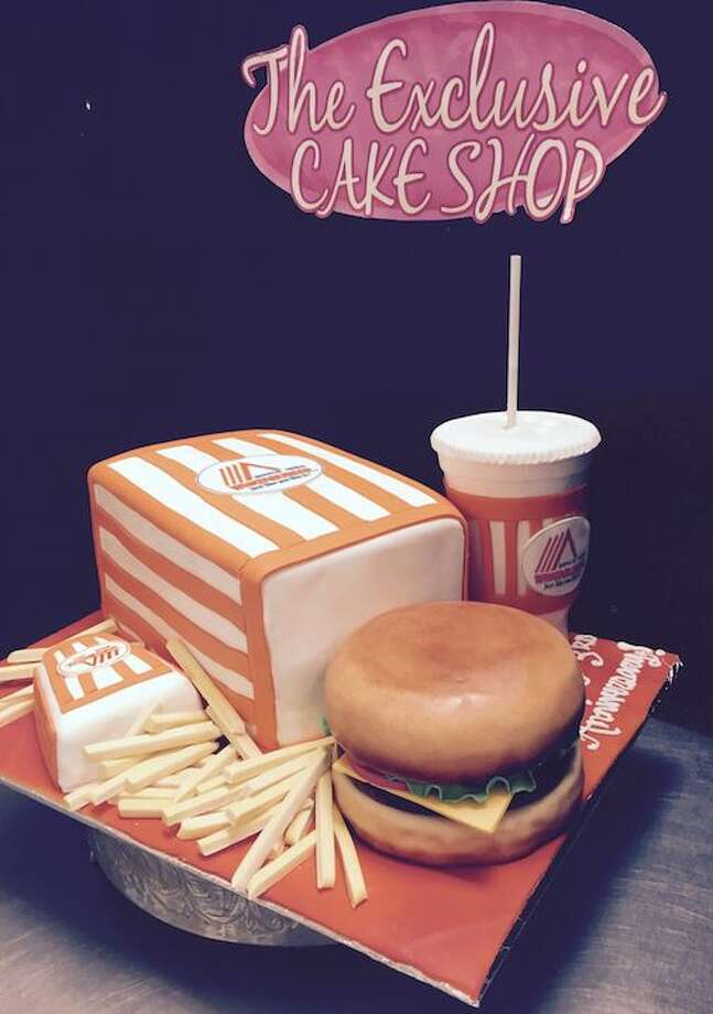 Whataburger Cake  Photo: Mendoza, Madalyn S, The Exclusive Cake Shop