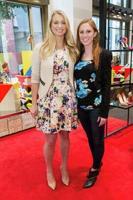 Amanda Bradford and Ann Breckenkamp at the Christian Louboutin San Francisco store anniversary party on May 20, 2015.