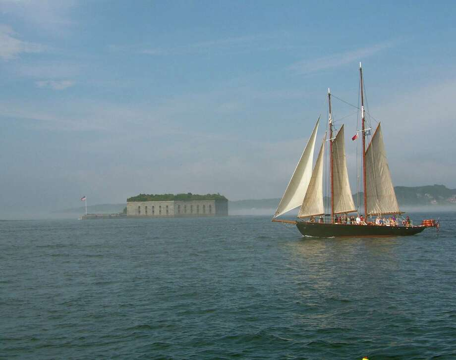 Chronicle reader Linda Brannen of New Braunfels submitted this vacation photo of Fort Georges taken near Portland, Maine. Photo: Linda Brannen / Linda Brannen