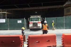 Worker critical after fall down elevator shaft at SFMOMA site - Photo