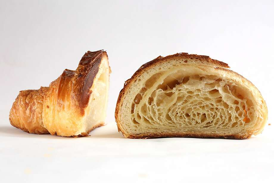 A view of a croissant from Tartine Bakery. Photo: Liz Hafalia, The Chronicle