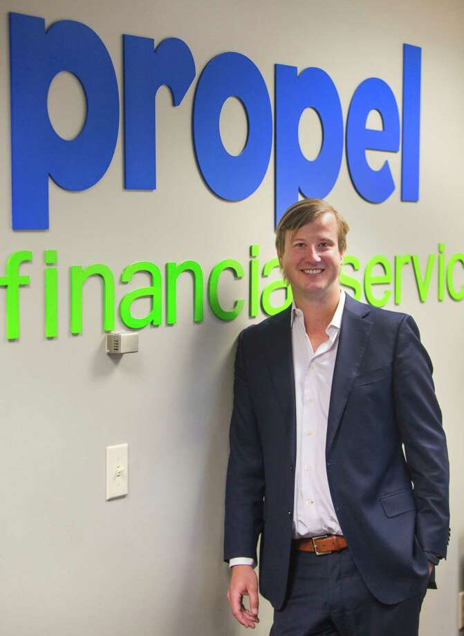 Jack Nelson, president and CEO of Propel Financial Services, the state's largest property-tax lender, in the company's San Antonio office in 2015. Photo: William Luther /San Antonio Express-News / © 2015 San Antonio Express-News