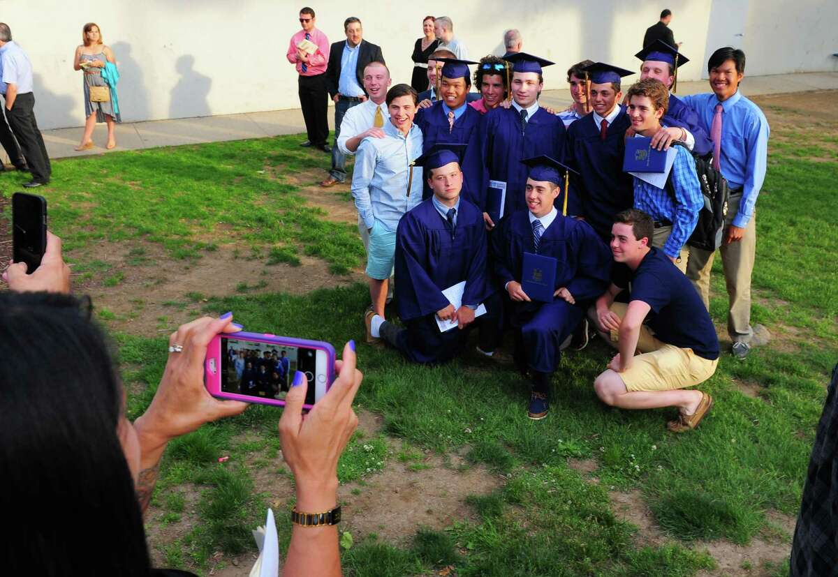 Notre Dame of Fairfield's Class of 2015 Commencement Exercises in Fairfield, Conn., on Friday May 29, 2015.