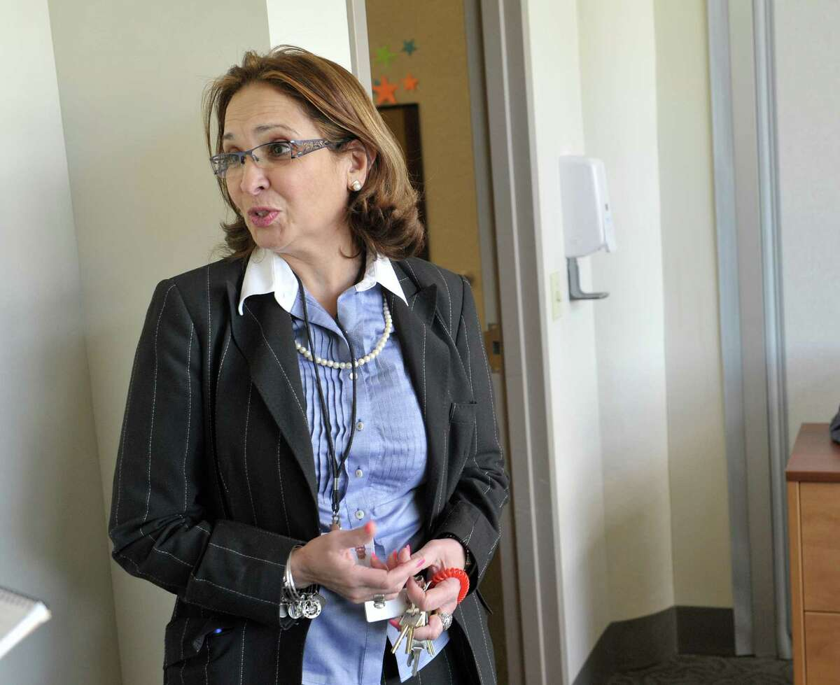 Micky Jimenez, regional director of Capital District Camino Nuevo outpatient and outpatient methadone program talks about the program and people they serve during an interview on Wednesday, May 13, 2015, in Albany, N.Y. (Paul Buckowski / Times Union)