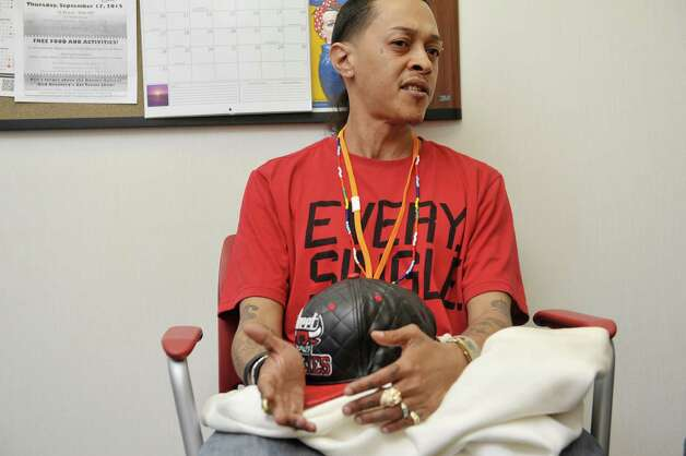 Cherokee Ramirez a client of Capital District Camino Nuevo outpatient and outpatient methadone program talks about the program during an interview on Wednesday, May 13, 2015, in Albany, N.Y.    (Paul Buckowski / Times Union) Photo: PAUL BUCKOWSKI / 00031767A