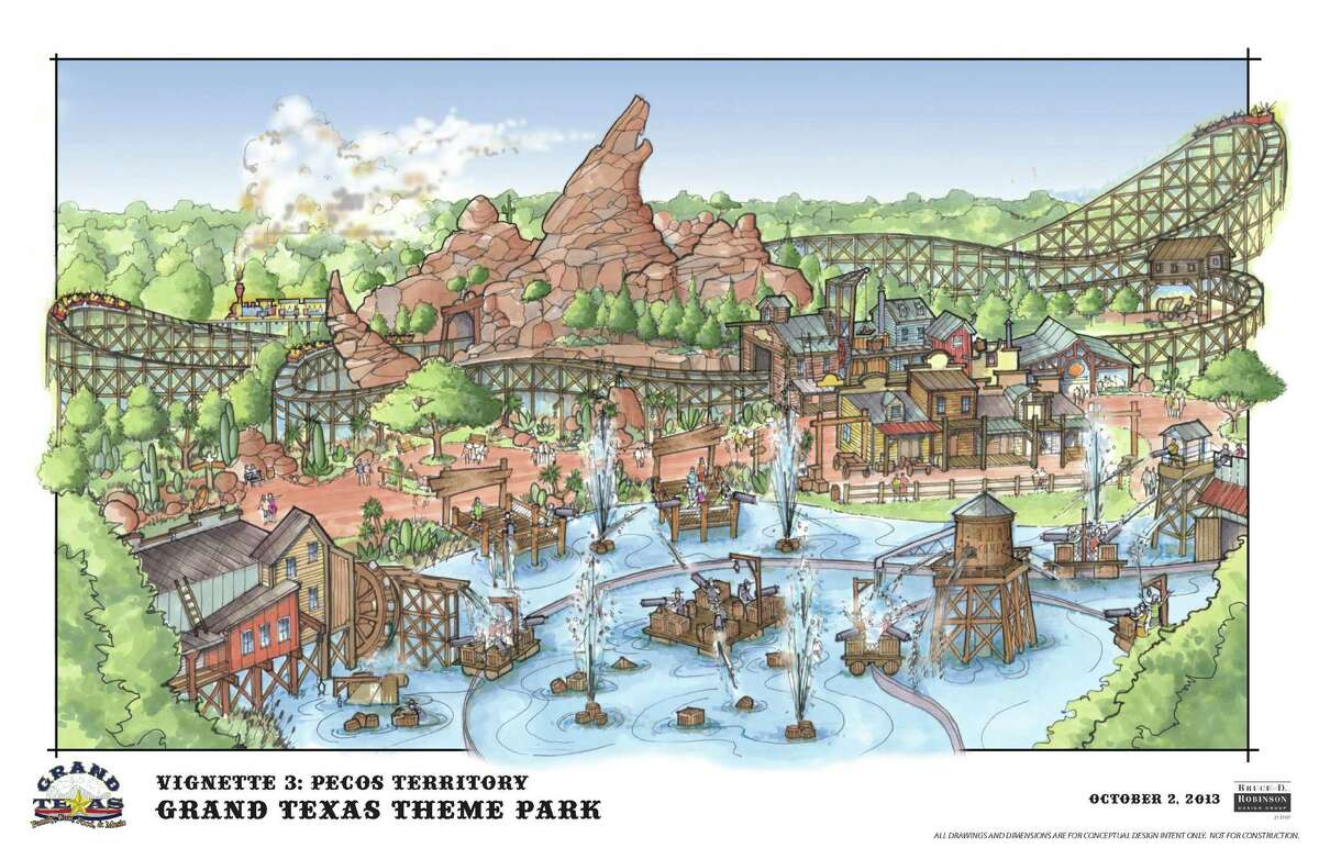 A rendering of Grand Texas.