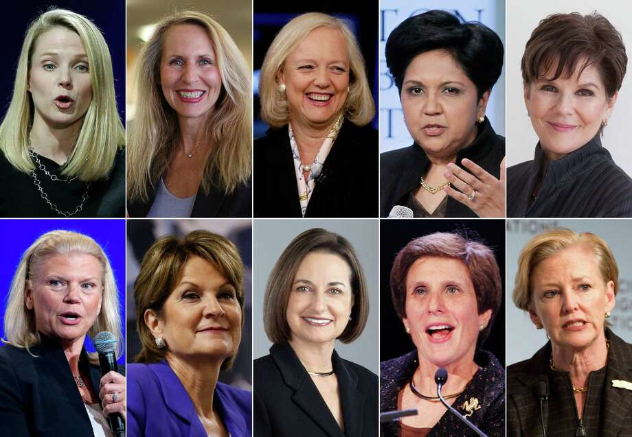 Here are the 10 highest-paid women CEOs for 2015, as calculated by The Associated Press and Equilar, an executive data firm. Photo: Various, HONS / AP/General Dynamics/ADM