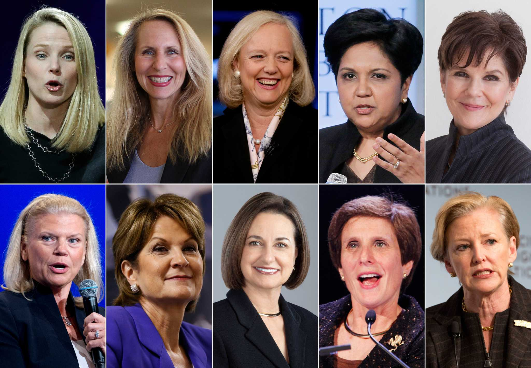 Technology Management Image: Only 8 Of The 100 Most-loved CEOs In America Are Women